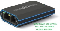 MagicJack Customer Care -:  +1 (855) 892-0514 MagicJack USB device