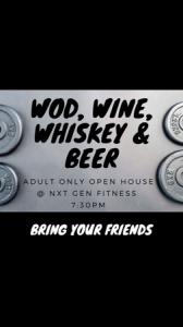 WOD, Wine, Whiskey & Beer