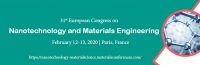 31st European Congress on Nanotechnology and Materials Engineering