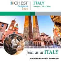 CHEST Congress 2020, Bologna, Italy   25-27 June 2020