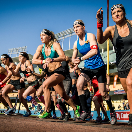 Spartan Race Stadion - Angel Stadium of Anaheim 2020, Anaheim, California, United States