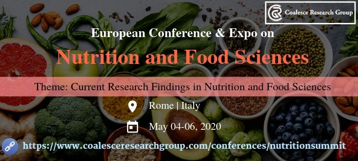 European Conference and Expo on Nutrition & Food Sciences, Rome, Lazio, Italy
