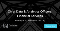 Chief Data & Analytics Officers, Financial Services