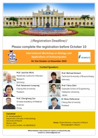 International Workshop on Biology and and Application of Actinomycetes