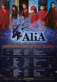 Born Again Concerts proudly presents: AliA official Around the World -Re:Al