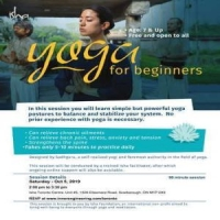 [FREE] Yoga For Beginners on Saturday Oct 05. 2019 at 2.00 pm, Scarborough