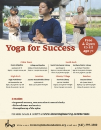 [FREE] Yoga for Success on Wednesday Oct 16, 2019 at 6:30 P.M in High Park