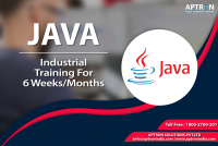 JAVA 6 Months Industrial Training with Live Project in Noida By APTRON