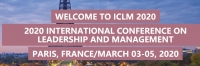 2020 International Conference on Leadership and Management (ICLM 2020)