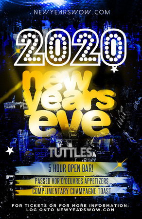 Tuttles Bar and Grill New York City New Year's Eve 2020 Celebration, New York, United States