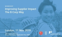 Improving Supplier Impact - The B Corp Way Workshop