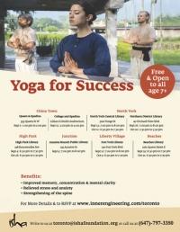 [FREE} Yoga For Success on Monday, Oct 21, 2019 at 6:30 p.m, Toronto