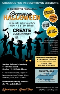 CREATE's Grown-up Halloween Party