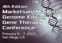 4th Edition MarketsandMarkets Genome Editing & Gene Therapy Conference