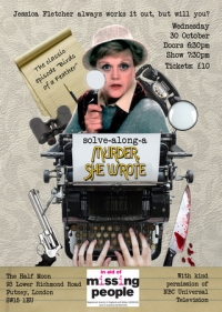 Solve Along Murder She Wrote: Interactive Show at Half Moon Putney 30 Oct