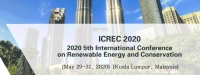 2020 5th International Conference on Renewable Energy and Conservation (ICREC 2020)