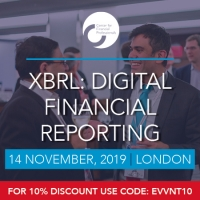XBRL: Digital Financial Reporting   14 November   London