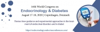 16th World Congress on Endocrinology & Diabetes