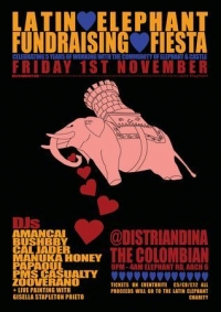 Latin Elephant Fundraising Fiesta - 5 Years of Latin Elephant