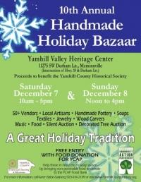 10th Annual Handmade Holiday Bazaar