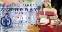 Shop Small Business Saturday at Catholic Supply!