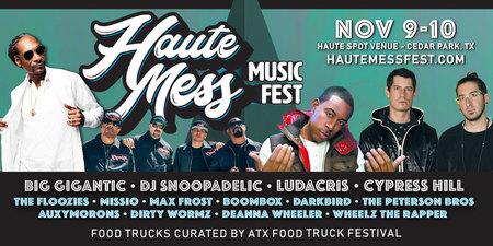 Haute Mess Music Fest - 9th -10th November 2019, Cedar Park, Texas, United States