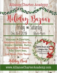 Large Holiday Bazaar at Alliance Charter Academy