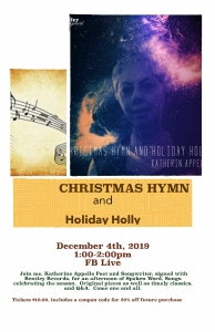 Christmas Hymn And Holiday Holly With Katherine Appello