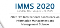 2020 3rd International Conference on Information Management and Management Science (IMMS 2020)