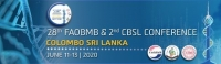 Federation of Asian Biochemists and CBSL Congress, June 11-13, 2020 Colombo