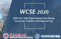 2020 the 10th International Workshop on Computer Science and Engineering (WCSE 2020)