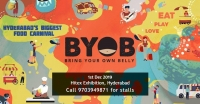 BYOB - Hyderabad's Biggest Food Carnival - BookMyStall