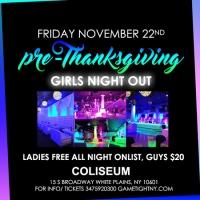 Coliseum White Plains Pre-Thanksgiving party 2019
