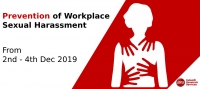 Prevention of Workplace Sexual Harassment Training (2nd December 2019)