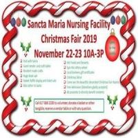Christmas Fair at Sancta Maria Nursing Facility