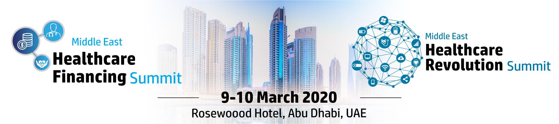 Middle East Healthcare Financing Summit, Abu Dhabi, United Arab Emirates