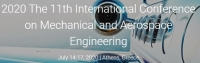 2020 11th International Conference on Mechanical and Aerospace Engineering (ICMAE 2020)