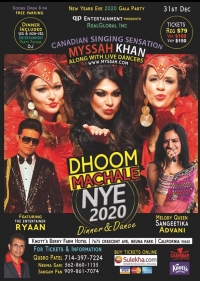 Dhoom New Years Eve 2020 Los Angeles