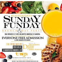 Taj Lounge NYC Hip Hop vs. Reggae™ Sunday Funday Brunch Party