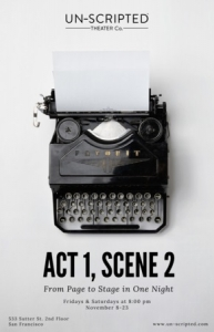 Act 1, Scene 2: From Page to Stage in One Night