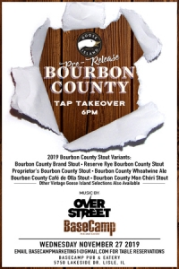 Goose Island Bourbon County Pre- Release / Tap Takeover