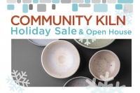 Ceramics Holiday Sale and Open House