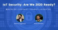 #IoT Security: Are we 2020 ready?