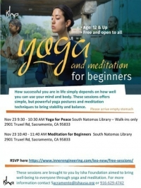 Yoga for Peace in Sacramento, CA