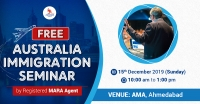 FREE Australia Immigration Seminar at AMA, Ahmedabad