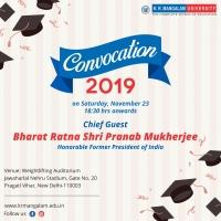 Convocation 2019-K.R.Mangalam University