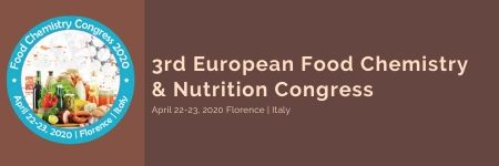 3rd European Food Chemistry & Nutrition Congress, Firenze FI/Florence/Italy, Italy