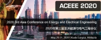 2020 Third Asia Conference on Energy and Electrical Engineering (ACEEE 2020)