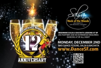 SalsaCrazy Mondays 12 Year Anniversary Party - 2 Floors of Salsa y Bachata