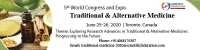 5th World Congress and Expo on Traditional & Alternative Medicine